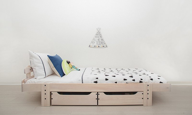 GrowMe - camas de transición para niños